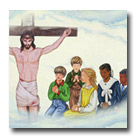 The children learn of Jesus their Saviour